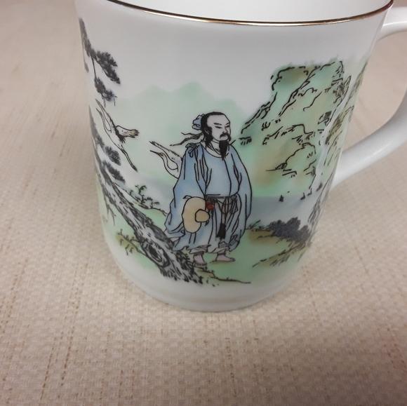 Asian Art Coffee Tea Mug
